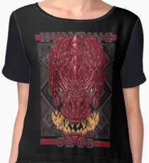 Hunting Club: Odogaron Chiffon Top