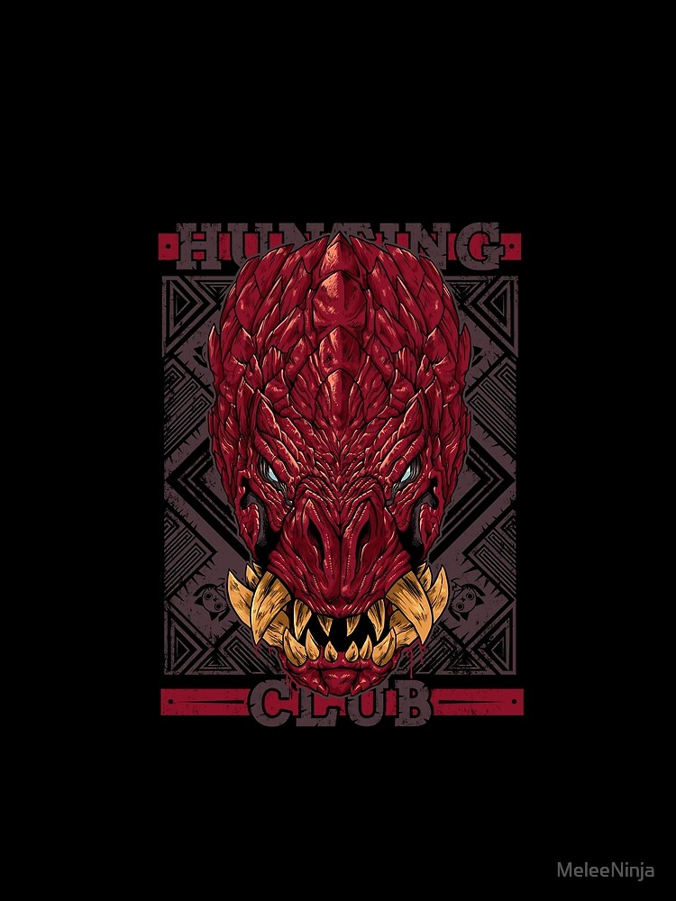 Hunting Club: Odogaron by MeleeNinja