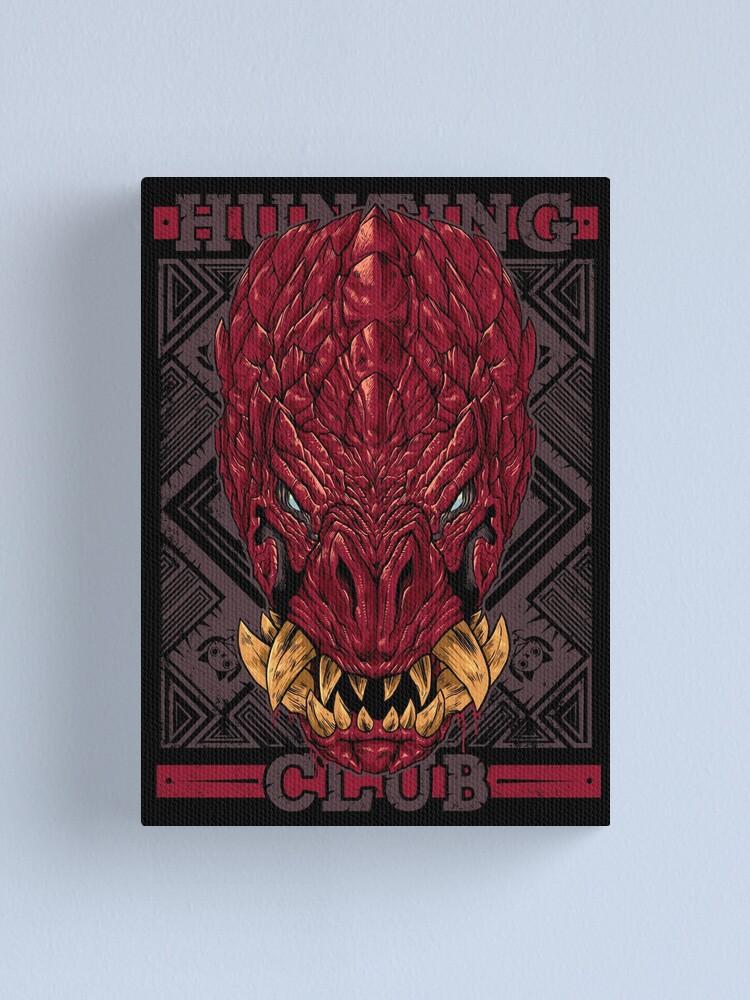 Alternate view of Hunting Club: Odogaron Canvas Print