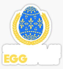Eggspert Easter April Fools T Shirts Sticker