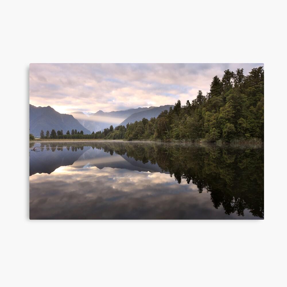 Lake Matheson Dawn, South Island, New Zealand Canvas Print