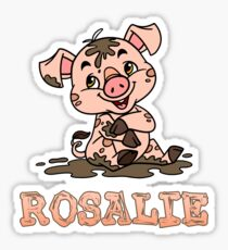 Rosalie Piggy Sticker