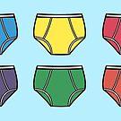 Underwear Pattern by ImportAutumn