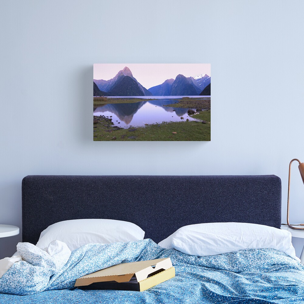 Milford Sound Dawn, South Island, New Zealand Canvas Print