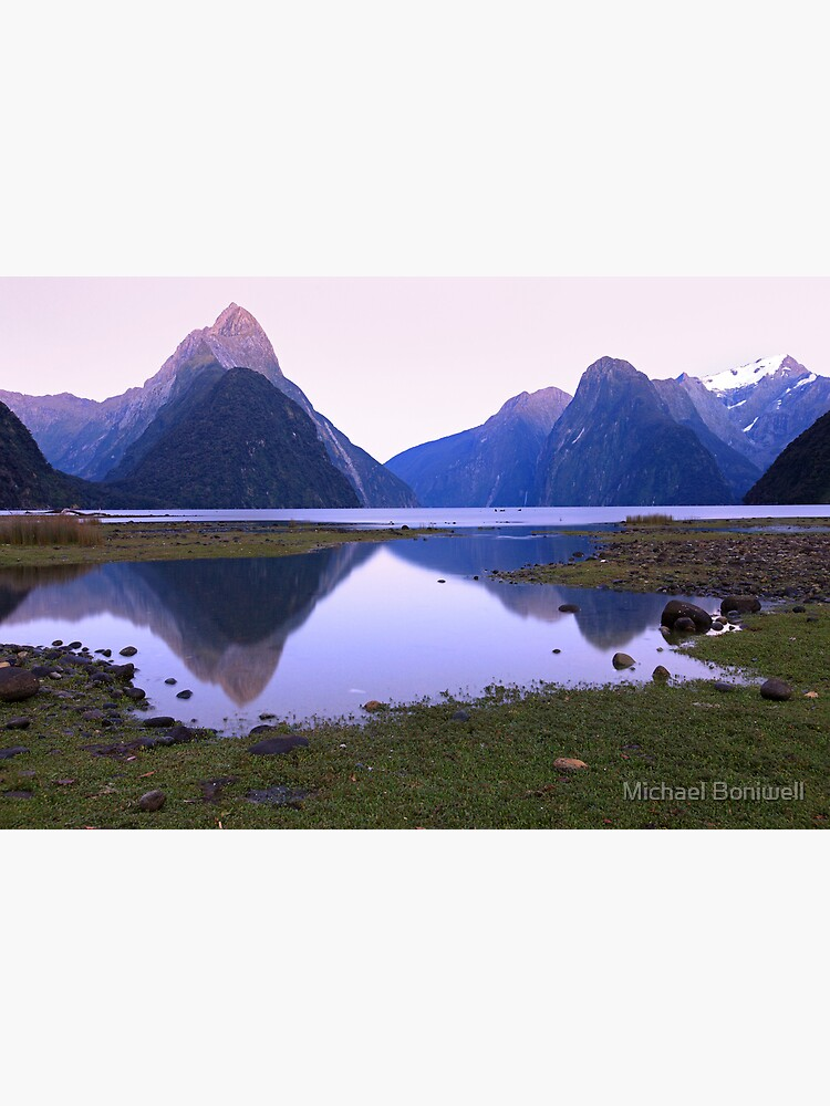 Milford Sound Dawn, South Island, New Zealand by Chockstone