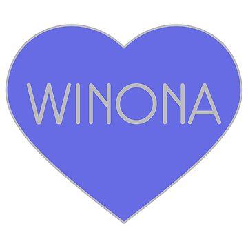 Winona Ryder by doom-and-gloom