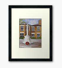 Cenotaph. Framed Print
