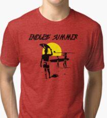 THE ENDLESS SUMMER - CLASSIC SURF MOVIE Tri-blend T-Shirt
