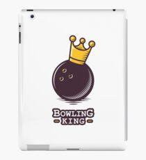 Bowling king iPad Case/Skin