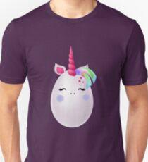 Ostern Einhorn Ei Slim Fit T-Shirt