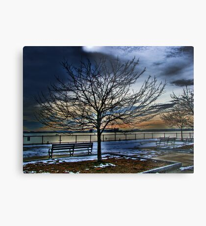 Good-bye Winter Metal Print