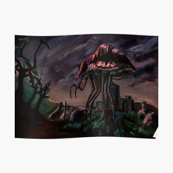Morrowind - Silt Strider Poster