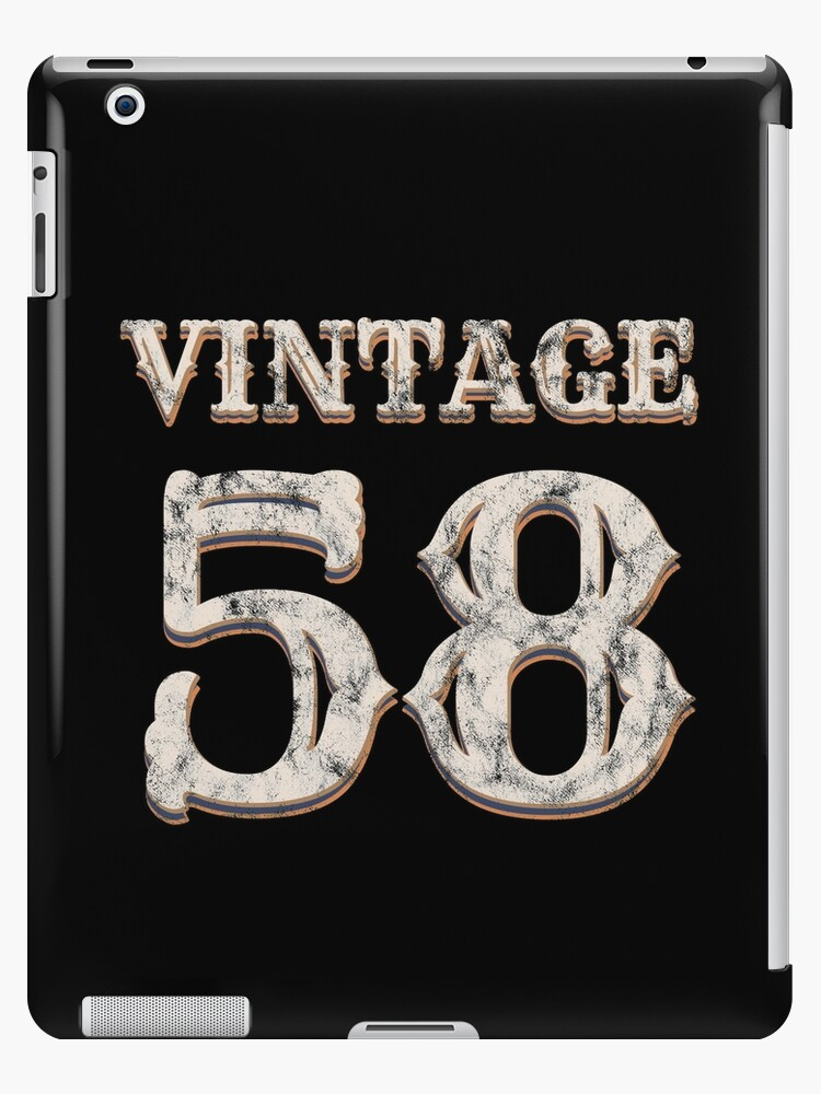 Vintage 58 Tshirt 60th Birthday Gift For 60 Year Old