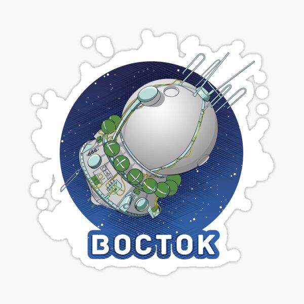 Vostok  Sticker