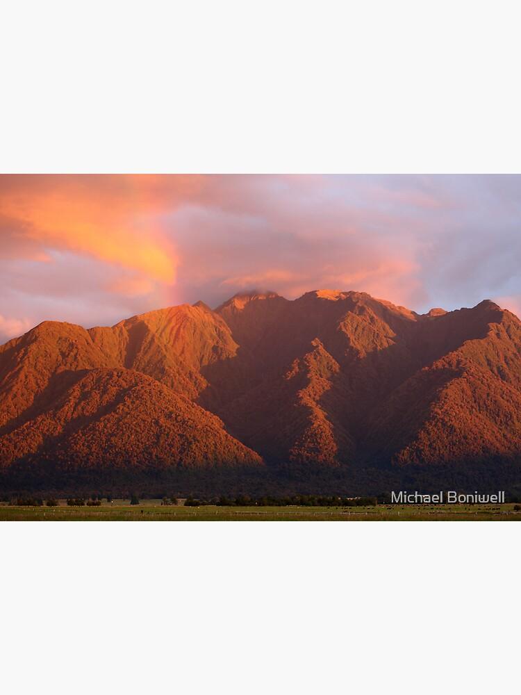 Fox Glacier Valley Sunset, South Island, New Zealand by Chockstone