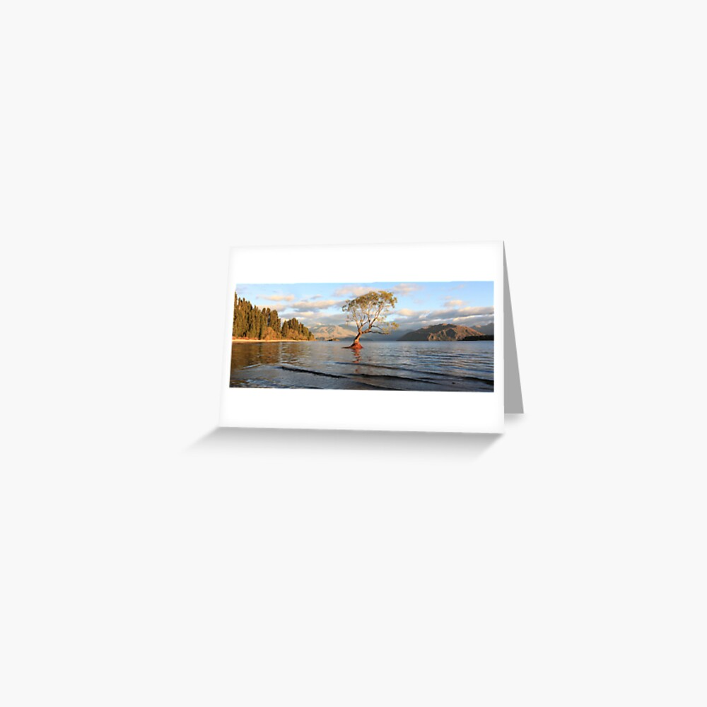 Lake Wanaka, South Island, New Zealand Greeting Card