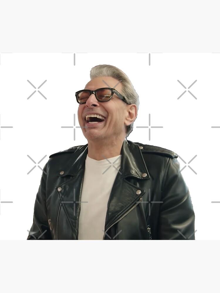 Jeff Goldblum Laughing by grantsewell