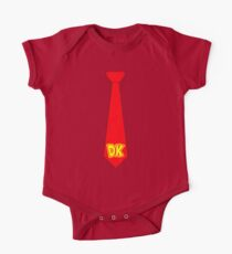 DK Tie - Donkey Kong Tie T-Shirt One Piece - Short Sleeve