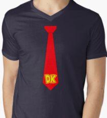 DK Tie - Donkey Kong Tie T-Shirt Men's V-Neck T-Shirt