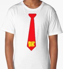 DK Tie - Donkey Kong Tie T-Shirt Long T-Shirt