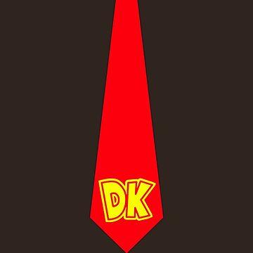 DK Tie - Donkey Kong Tie T-Shirt by HeadOut