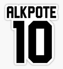 Alkpote - Whore Suck Sticker