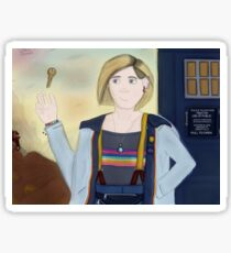 The Thirteenth Doctor - Ready For Adventure Sticker