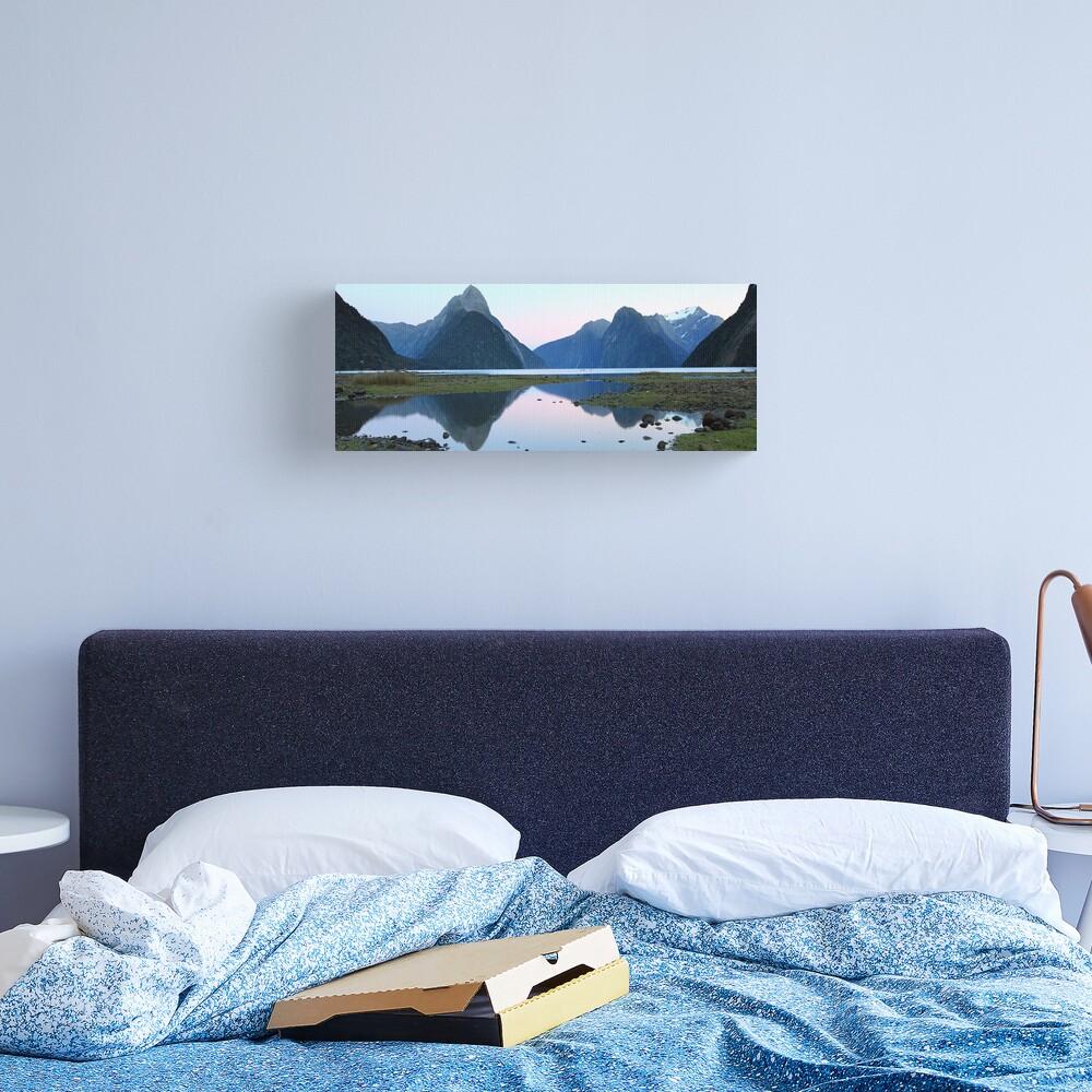 Milford Sound Dawn, South Island, New Zealand Canvas Print