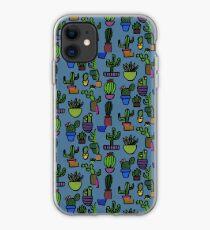 Disjunct Cactus Print  iPhone Case