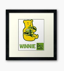 Winnie Plutonium Framed Print