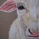 Meryl Sheep by TraceyMackieArt