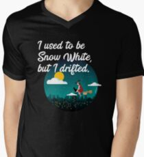 I Used To Be Snow White But I Drifted Men's V-Neck T-Shirt