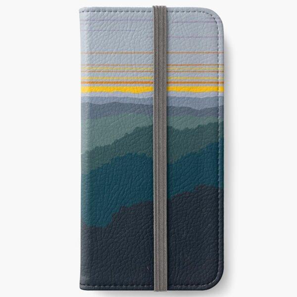 """Mountain Morning Has Broken"" 121 iPhone Wallet"