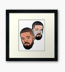 Crying Aubrey Framed Print