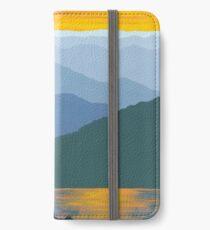 """""""Mountain Sunset Lake"""" iPhone Wallet/Case/Skin"""