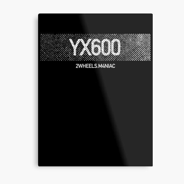 Ridezza YX600 Radian Maniac Motorcycle Metal Print