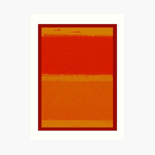 Imaginer Rothko I Impression artistique
