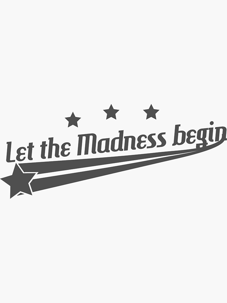 March Madness TShirt by vanillaguy