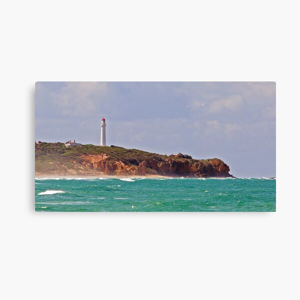 Split Point Lighthouse (4), Aireys Inlet, Great Ocean Road Canvas Print