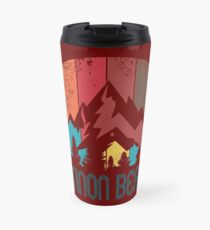 Retro City of Cannon Beach T Shirt for Men Women and Kids Travel Mug
