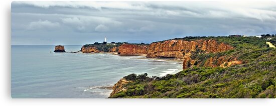 Split Point Lighthouse, Aireys Inlet, Great Ocean Road by Andy Berry