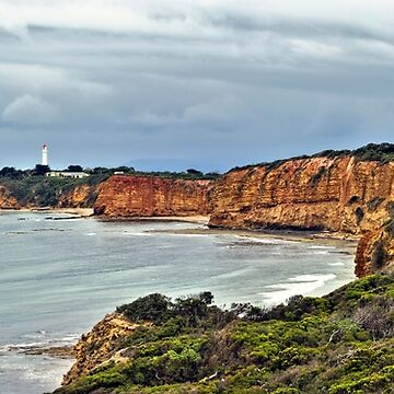 Split Point Lighthouse, Aireys Inlet, Great Ocean Road by janjuc