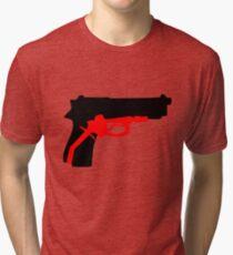 Oil Kills (black) Tri-blend T-Shirt