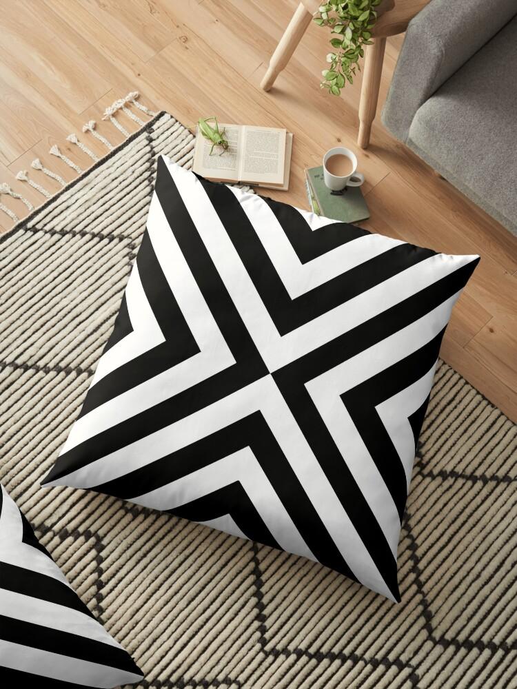 Black & White Simple Pattern by MyArt23