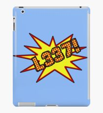 Comic Style Elite L337!  iPad Case/Skin
