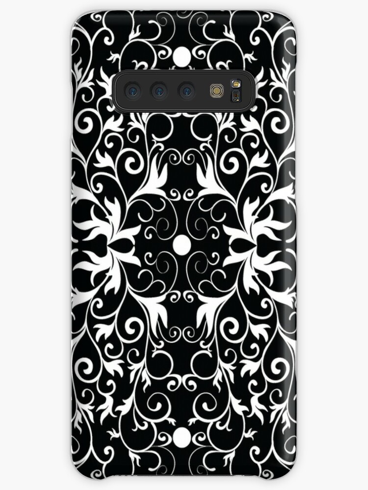 Black and White Abstract Pattern by MyArt23