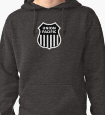 union pacific logo in black Pullover Hoodie