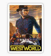 Westworld 1973 Poster Sticker