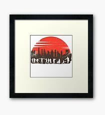 Zombie Control - Full Moon Framed Print