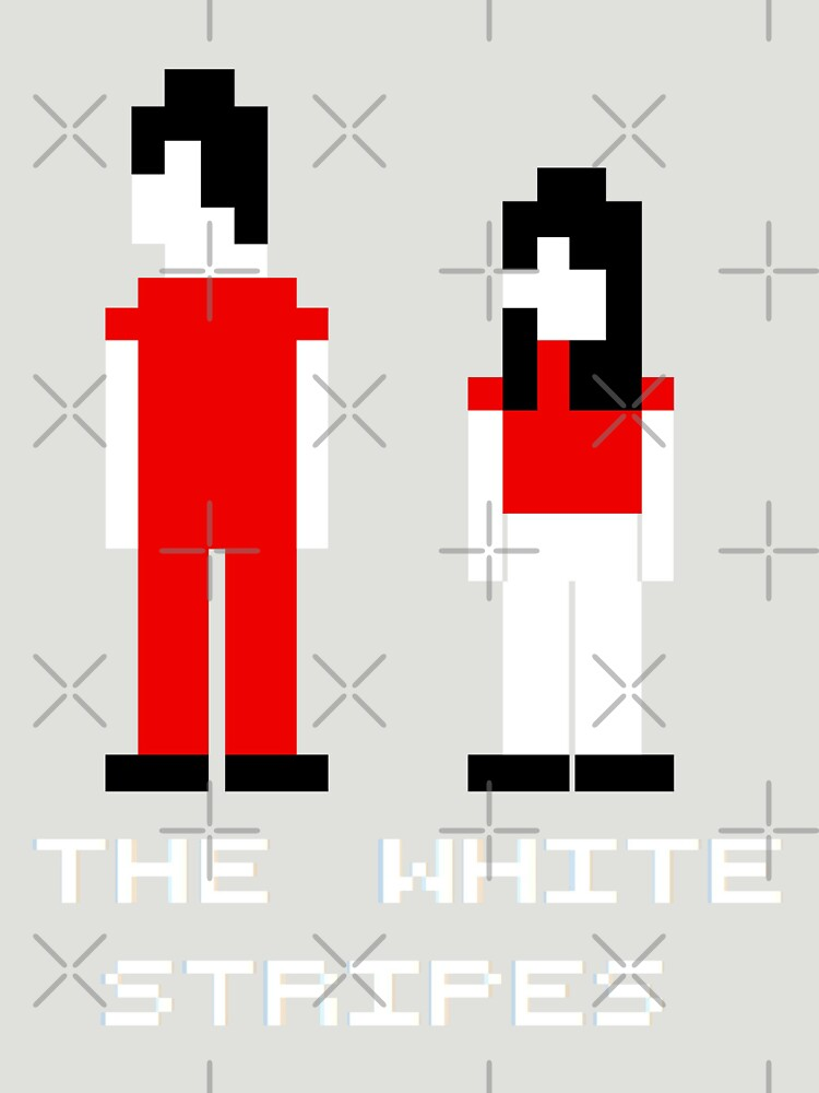 The White Stripes Pixel. | Unisex T-Shirt